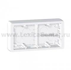 Коробка накладного монтажа 2 поста белый Celiane (Legrand) 80242