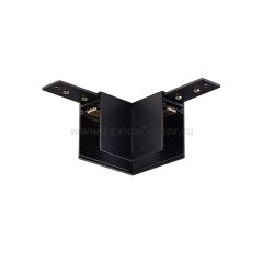 L-образный угол-соединитель для подвесного/накладного магнитного шинопровода Donolux L corner DLM/Black