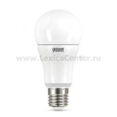 Лампа Gauss LED Elementary A60 12W E27 4100K 2/50 (2 лампы в упаковке)