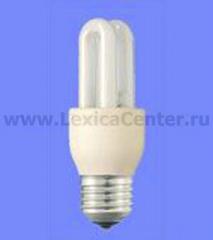 Лампа энергосберегающая Philips Stick Esaver 6y-Genie 11W 230-240V WW E14
