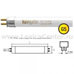 Лампа люминесцентная Navigator 94 115 NTL-T4-20-860-G5