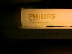 Лампа люминесцентная Philips TLD 18W/830 G13 тепло-белая