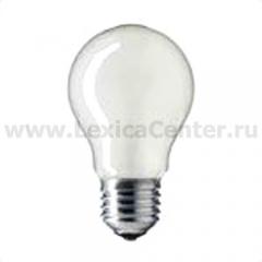 Лампа накаливания Philips A55 40W E27 Frost