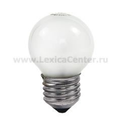 Лампа накаливания ШАР P45 40Вт 220В Е27 МТ 380Лм ASD