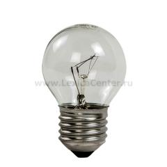 Лампа накаливания ШАР P45 40Вт 220В Е27 ПР 380Лм ASD