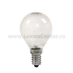 Лампа накаливания ШАР P45 60Вт 220В Е14 МТ 630Лм ASD