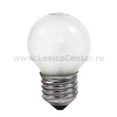 Лампа накаливания ШАР P45 60Вт 220В Е27 МТ 630Лм ASD