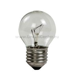 Лампа накаливания ШАР P45 60Вт 220В Е27 ПР 630Лм ASD