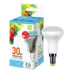 Лампа светодиодная LED-R50-standard 5.0Вт 160-260В Е14 4000К ASD