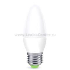Лампа светодиодная LED-СВЕЧА-standard 5.0Вт 160-260В Е27 3000К ASD