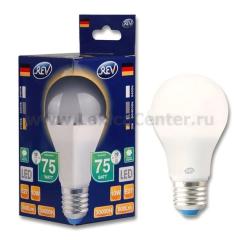 Лампа светодиодная REV 32264 1 LED A60 Е27 7W 600Лм, 2700K, теплый свет