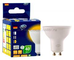 Лампа светодиодная REV 32329 7 LED PAR16 GU10 5W 420Лм, 4000K, холодный свет