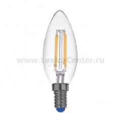 Лампа светодиодная REV 32359 4 LED PС37 E14 5W, 2700K, PREMIUM (FILAMENT), теплый свет, шт