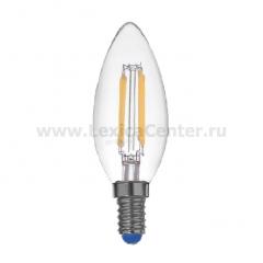 Лампа светодиодная REV 32360 0 LED PС37 E14 5W, 4000K, PREMIUM (FILAMENT), холодный свет, шт