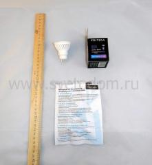 Лампа светодиодная софит 7W GU10 4000К VG1-S2GU10cold7W