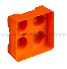 Legrand Bticino Axolute 502CW Eteris Крышка для коробки на 2 модуля