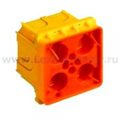 Legrand Bticino Axolute 502W Eteris/LivingLight AIR Коробка для сплошных стен, 2 модуля