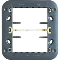 Legrand Bticino Axolute H4726 Суппорт для рамки на 3+3 модуля с винтами в комплекте