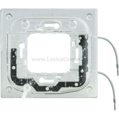 Legrand Bticino Axolute HA4702X Суппорт с подсветкой 230 Вт 2,5мА 0,3Вт для прямоуг. рамки 2 мод