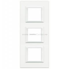 Legrand Bticino Axolute HA4802M3HD White Рамка 2+2+2 мод прямоугольная вертикальная