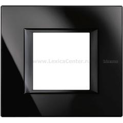 Legrand Bticino Axolute HA4802VNB Nighter Рамка 2 мод прямоугольная