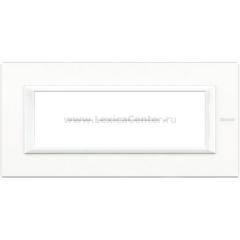 Legrand Bticino Axolute HA4806HD White Рамка 6 мод прямоугольная