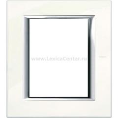 Legrand Bticino Axolute HA4826BG Фарфор Рамка 3+3 мод прямоугольная