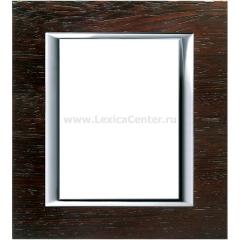 Legrand Bticino Axolute HA4826LWE Венге Рамка 3+3 мод прямоугольная