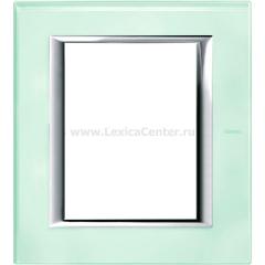 Legrand Bticino Axolute HA4826VKA Кристалл Рамка 3+3 мод прямоугольная