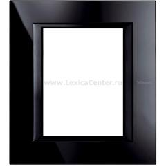 Legrand Bticino Axolute HA4826VNB Nighter Рамка 3+3 мод прямоугольная
