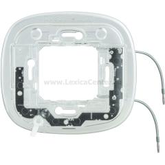 Legrand Bticino Axolute HB4702X Суппорт с подсветкой 230 Вт 2,5мА 0,3Вт для эллипс. рамки 2 мод