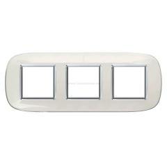 Legrand Bticino Axolute HB4802/3DB Белая карамель Рамка 2+2+2 мод эллипс