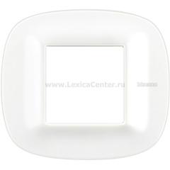 Legrand Bticino Axolute HB4802CGW Белый Corian Рамка 2 мод эллипс