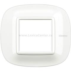 Legrand Bticino Axolute HB4802HD White Рамка 2 мод эллипс