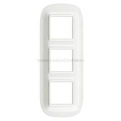 Legrand Bticino Axolute HB4802M3HD White Рамка 2+2+2 мод эллипс