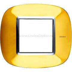 Legrand Bticino Axolute HB4802OR Золото Рамка 2 мод эллипс