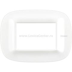 Legrand Bticino Axolute HB4803CGW Белый Corian Рамка 3 мод эллипс