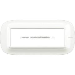 Legrand Bticino Axolute HB4806HD White Рамка 6 мод эллипс