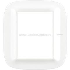 Legrand Bticino Axolute HB4826CGW Белый Corian Рамка 3+3 мод эллипс