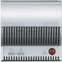 Legrand Bticino Axolute HC4511/12 Алюминий Детектор метана с сигнализацией (85 дБ), автодиагностика, 12В