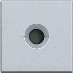 Legrand Bticino Axolute HC4954 Алюминий Заглушка с выходом 9 мм, 2 коннектора