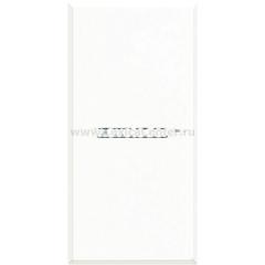 Legrand Bticino Axolute HD4005 White Axial Выключатель кнопочный (NO контакт) 16 А 1 мод