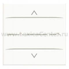 Legrand Bticino Axolute HD4037M2 White Axial Выключатель жалюзийный кнопочный 10А, 2 мод
