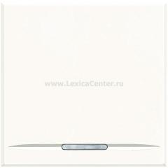 Legrand Bticino Axolute HD4051M2 White Выключатель 16 А 2 мод