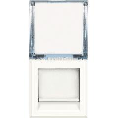 Legrand Bticino Axolute HD4279C6A White Розетка компьютер RJ45 6A кат. STP, тип коннектора - безинструментальный IDC 1 мод