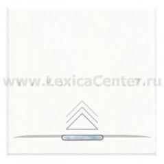 Legrand Bticino Axolute hd4407 White Светорегулятор нажимной для электронных трансформаторов 60-250 Вт 2 мод