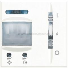Legrand Bticino Axolute HD4432 White Датчик движения Комфорт для актив. нагрузки 6А / индукт 2А 2 мод.