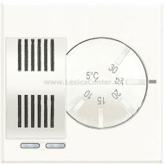 Legrand Bticino Axolute HD4441 White Термостат комнатный НО/НЗ контакт 2А 2 мод