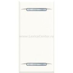 Legrand Bticino Axolute HD4911 White Клавиша без символа, 1 модуль