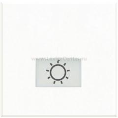 Legrand Bticino Axolute HD4921M2LA White Клавиши с подсвечиваемыми символами для выключателей в дизайне AXIAL-2 модуля,Лампа